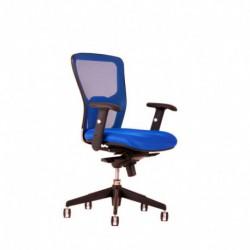 Kancelářská židle, DK 90, modrá (DIKE BP)