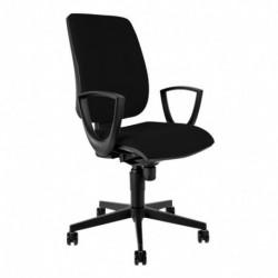 Kancelářská židle s područkami, D4, modrá (MOD 1380 SYN BR29)
