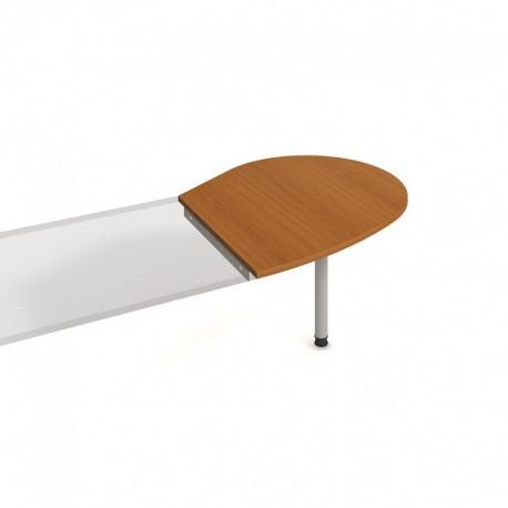 Stůl jednací pravý napříč 98cm Hobis Gate (GP 20 P N)