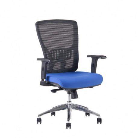 Kancelářská židle, 2621, modrá (HALIA MESH CHR BP)