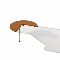Stůl jednací levý pr100cm Hobis Gate (GP 21 L)