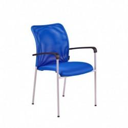 Jednací židle, DK 90, modrá (TRITON GRAY)