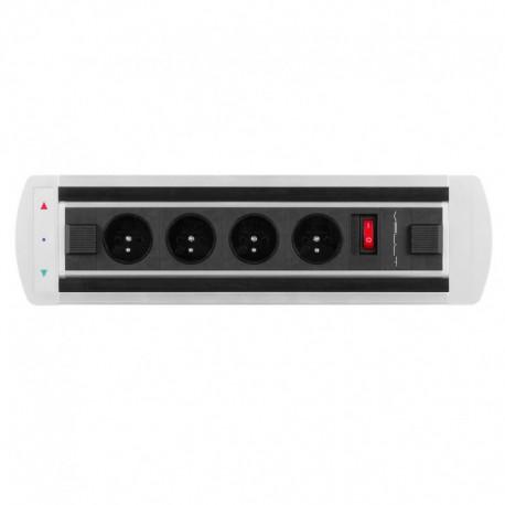 Elektricky otočný panel, 4x el.zás.,vypínač (VAULT BTCZ 010)