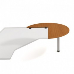 Stůl jednací pravý napříč pr120cm Hobis Gate (GP 22 P N)
